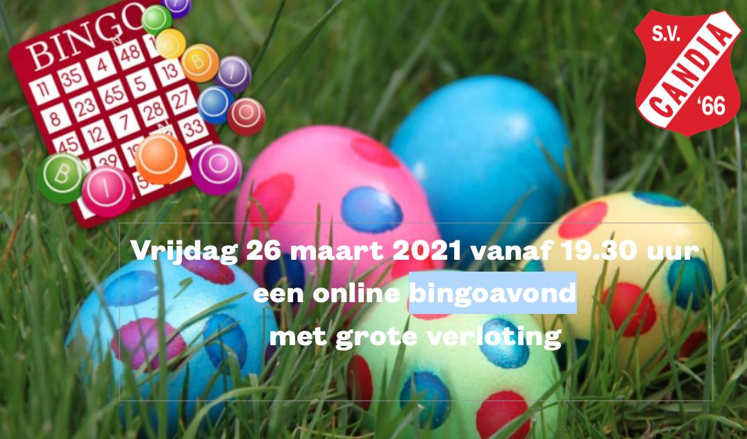 De online Bingo en verloting komt er aan.