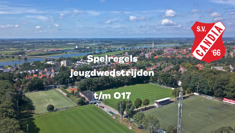Spelregels wedstrijden t/m O17