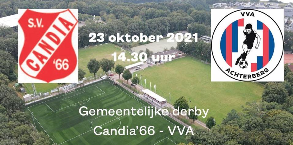 Gemeentelijke derby Candia - VVA