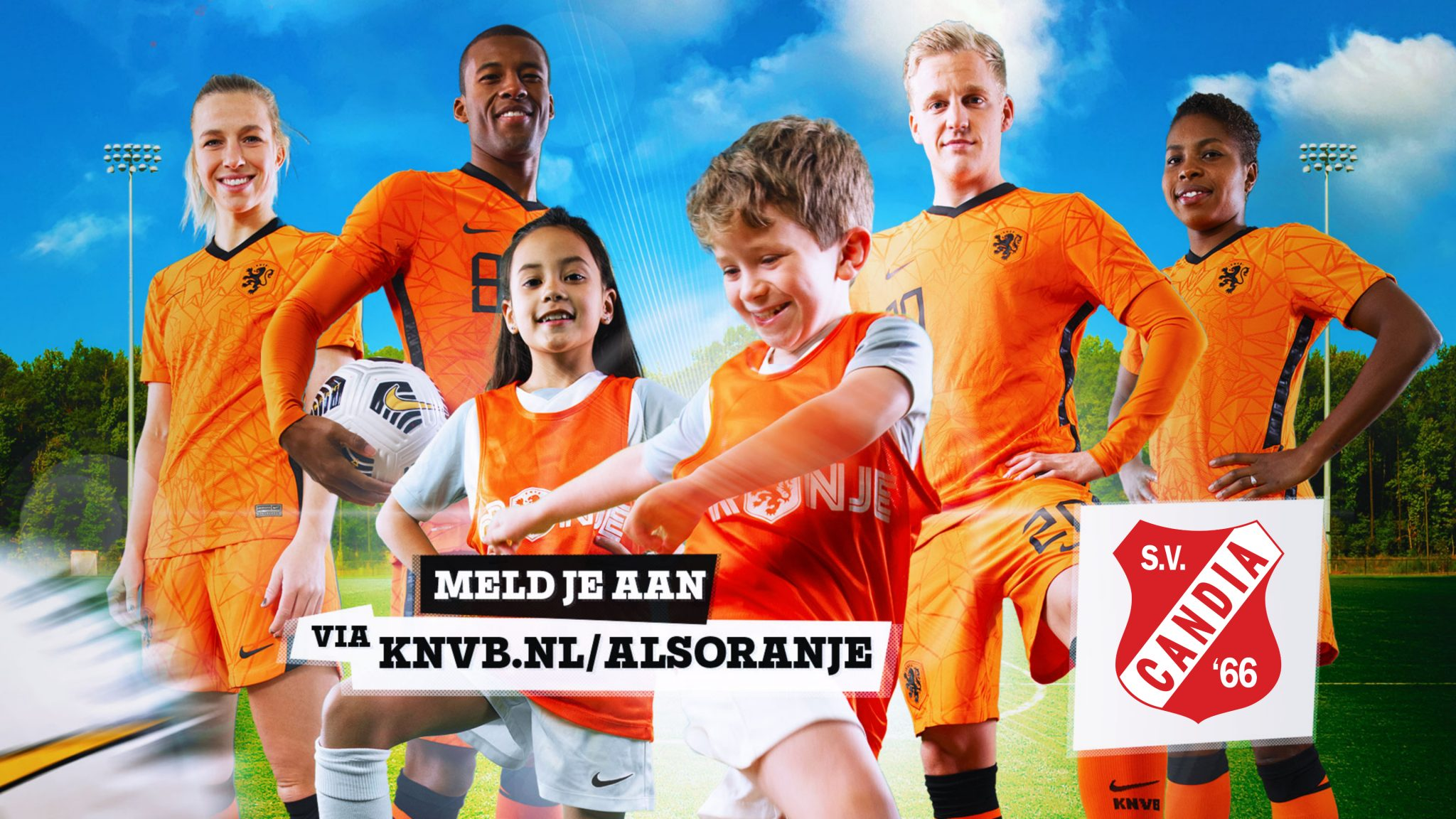 KNVB Oranjefestival 21 april
